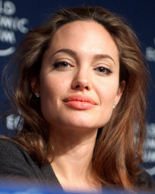 Angelina Jolie looking radiant and health