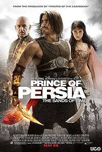 Jake Gyllenhaal in Prince of Persia poster