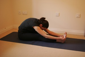 Forward Bend Yoga Pose