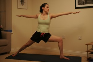 Warrior II Yoga Pose - Virabhadrasana II