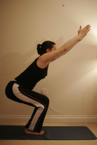 Chair Yoga Pose – Utkatasana