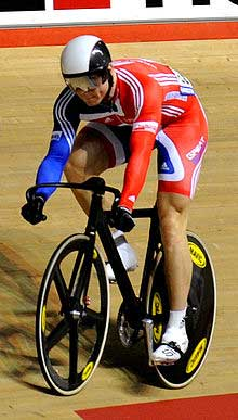 Chris Hoy speed cycling