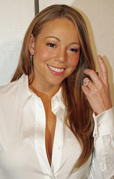 Mariah Carey at the première of Tennessee at the 2008 Tribeca Film Festival. Photo by David Shankbone
