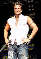 Peter Andre on stage