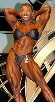 USA (Venezuela) Female bodybuilders
