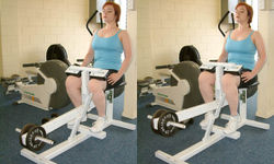 Seated Calf Raise Machine Exercise