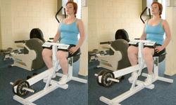 Seated Calf Raise Machine Exercise