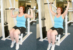 Shoulder Press Machine Exercise