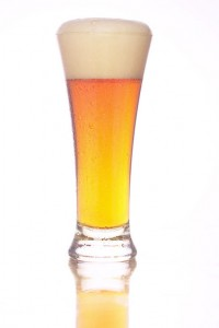 a healthy glass of beer