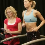 Dr Scurr testing sports bra