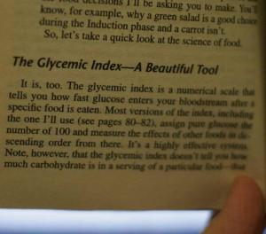 Dr Atkins Glycemic Index