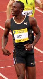 Usain Bolt the fastest man on Earth