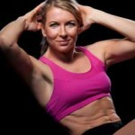 Crunches are a great core workout for circuit training