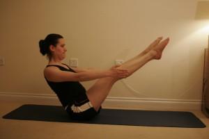 Paripurna Navasana - Full Boat Yoga Pose