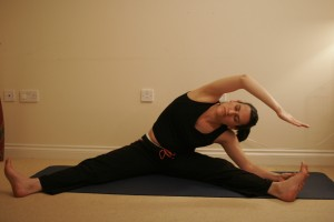 Revolved Seated Angle Yoga Posture – Parivrtta Upavistha Konasana
