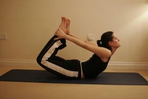 Bow Yoga Pose