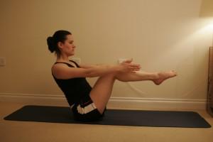 Paripurna Navasana - Half Boat Yoga Pose