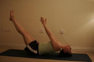 Uttana Padasana - Extended Fish Yoga Pose