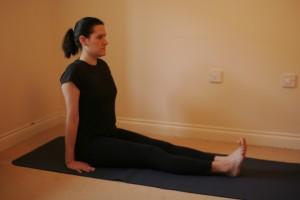 Staff Yoga Posture - Dandasana