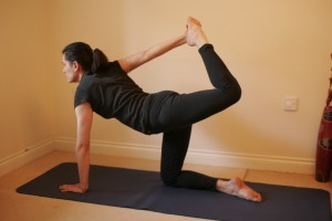 Advanced Spinal Balance Yoga Posture