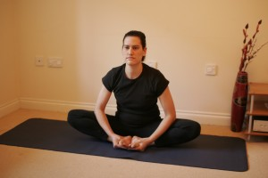 Baddha Konasana - Butterfly or Bound Angle Yoga Pose