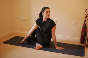 Ardha Matsyendrasana - Half Lord of the Fishes Pose