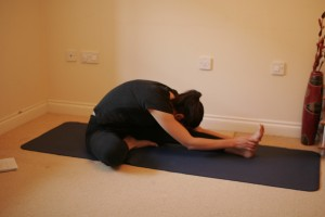 Janu Sirsasana - Forward Bending Head to Knee Yoga Pose