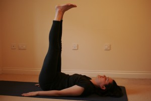 Viparita Karani - Leg Raise Yoga Pose