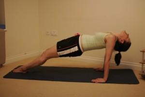 Purvottanasana - Reversed Plank Yoga Posture