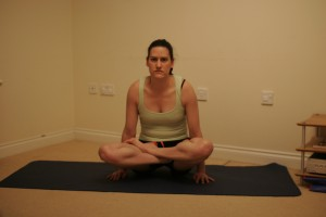 Lifted Lotus Yoga Pose