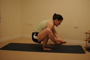 Bhujapidasana - Arm Pressure Yoga Posture