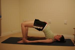 Setu Bandha Sarvangasana (Bridge) Yoga Posture