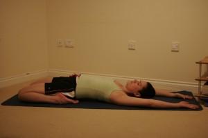 Supta Virasana - Reclining Hero Yoga Posture