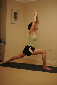 Warrior I Yoga Pose - Virabhadrasana I