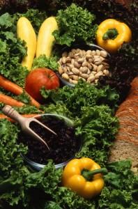 organic food on display