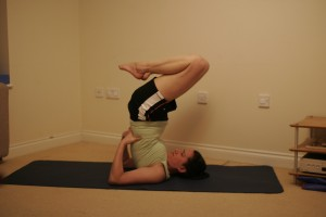 Shoulderstand variation