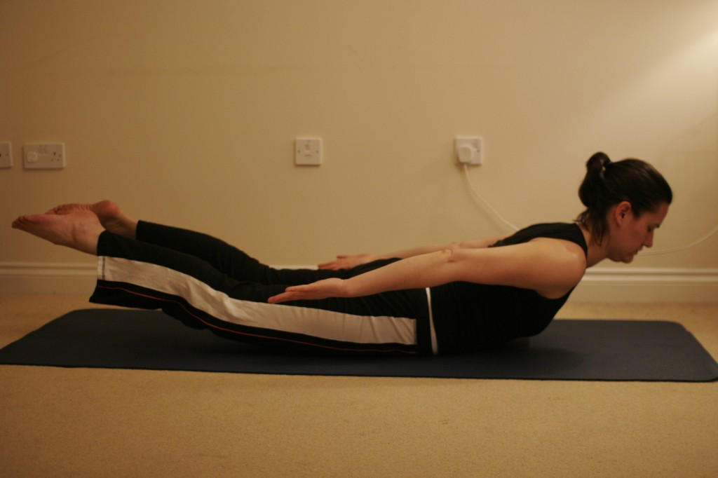 Locust Yoga Pose – Salabhasana
