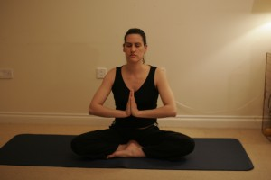 Salutation Seal Yoga Pose - Anjali Mudra