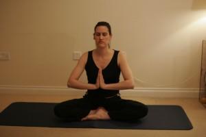 Salutation Seal Yoga Pose - Anjali Mudra