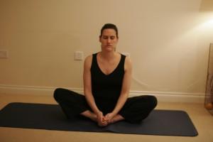 Cobbler Yoga Pose -  Bhadrasana