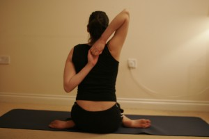Cow Face Yoga Pose – Gomukhasana