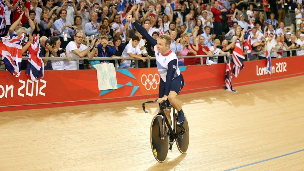 Chris Hoy wins Gold at London 2012