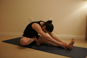 Janu Shirasana Head-to-Knee Forward Bend Yoga Pose