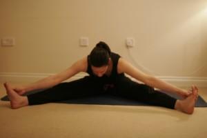 Wide Angle Yoga Pose - Upavistha Konasana