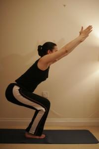 Chair Yoga Pose – Utkatasana