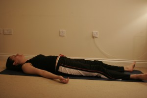 Corpse / Relaxation Yoga Pose – Savasana