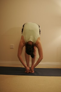 Standing Forward Bend Yoga Pose – Uttanasana B