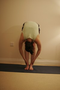 Standing Forward Bend Yoga Pose – Uttanasana A