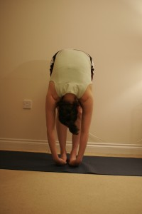 Standing Forward Bend Yoga Pose– Uttanasana C