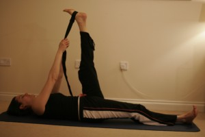 Reclining Big Toe Yoga Pose – Supta Padangusthasana